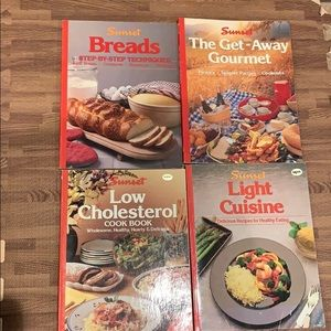 Vintage Sunset Cook Book Bundle